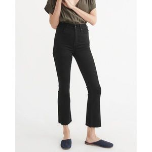 Abercrombie & Fitch Simone High Rise Ankle Flare